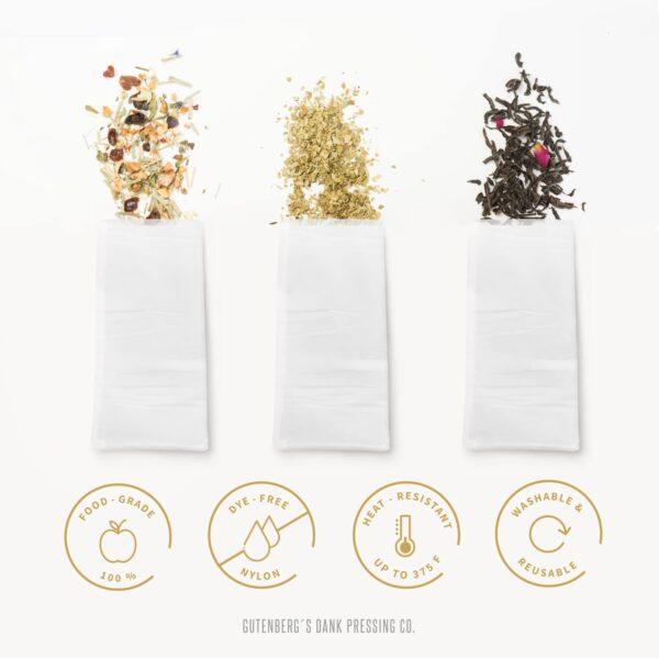 2x4 inch rosin press bags